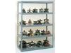 TENNSCO HIGH-CAPACITY RIVET SHELVING