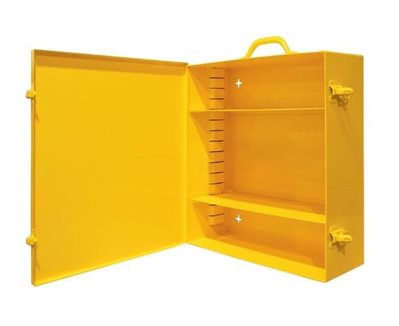 SPILL RESPONSE CABINET WITH ADJUSTABLE SHELVES