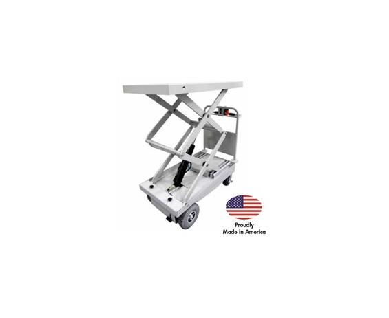 PONY EXPRESS LIGHT DUTY MOTORIZED SCISSOR-LIFT CARTS