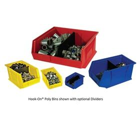 HOOK-ON® POLY BINS