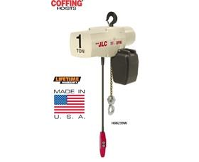 COFFING® HOISTS JLC ELECTRIC CHAIN HOISTS WITH RIGID TOP HOOK