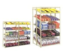 TENNSCO SLOPING SHELF UNITS